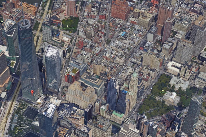 new google 3d images make flyovers nyc san francisco realistic earth wtc