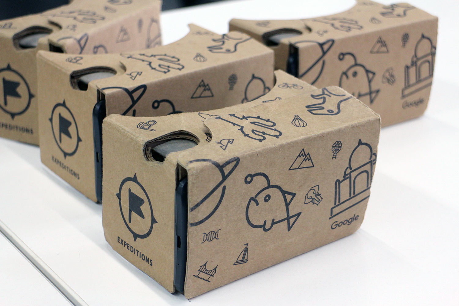 Google Expeditions boxes