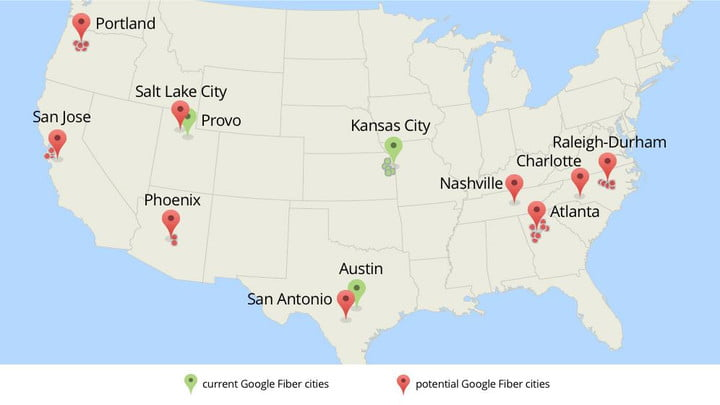 google fiber possibly heading several cities very soon 2014