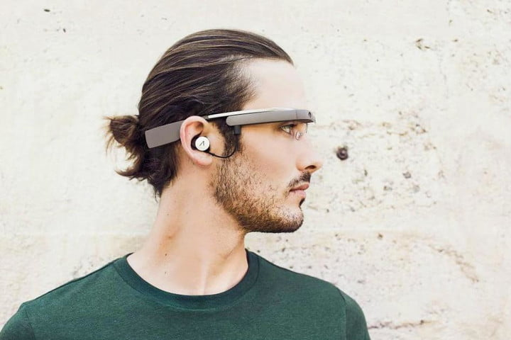 google glass gets play music access and new stereo earbuds redesign