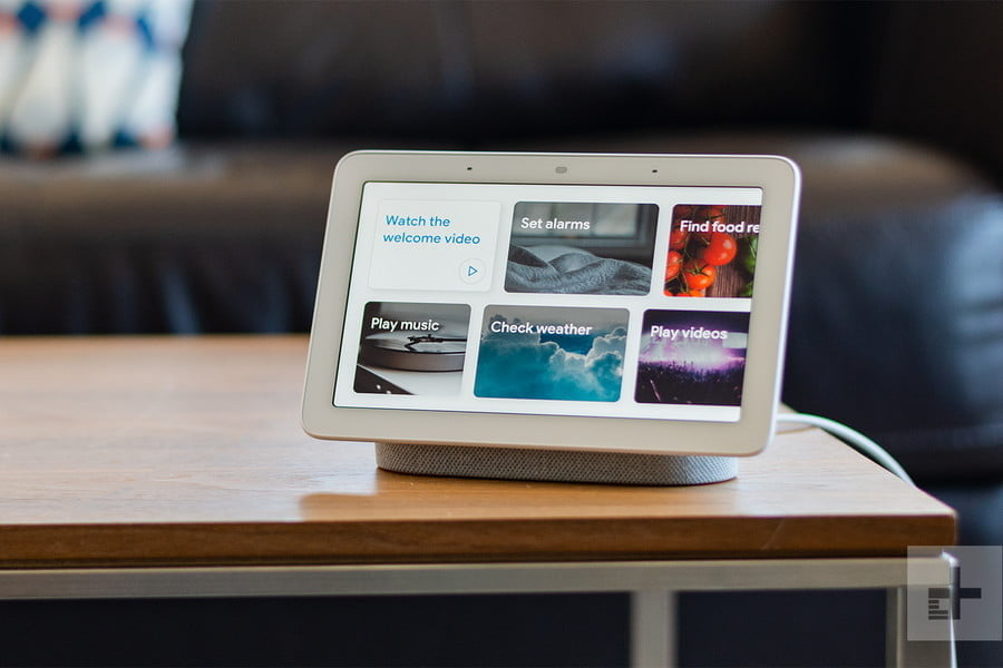 woot and newegg drop google home hub price review 1 900x600 c