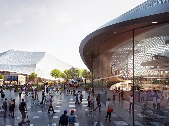 google shows off plans for its futuristic new headquarters hq 1