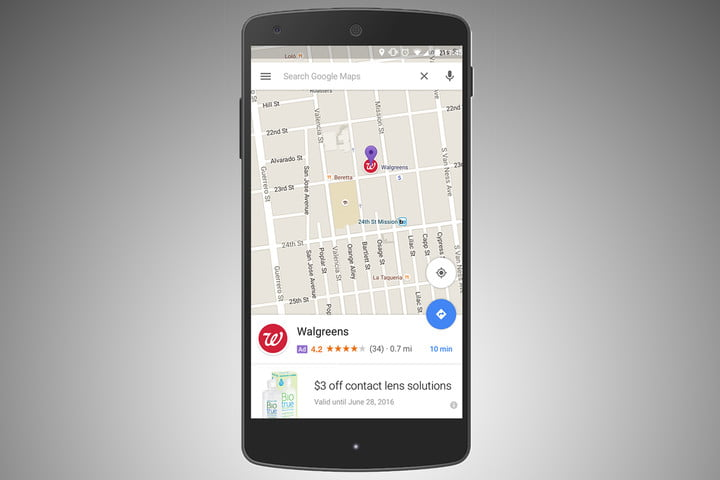 google maps ads promoted pins