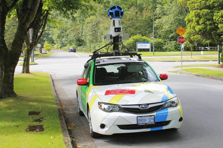 stanford research google street view cars predict zip code stats maps