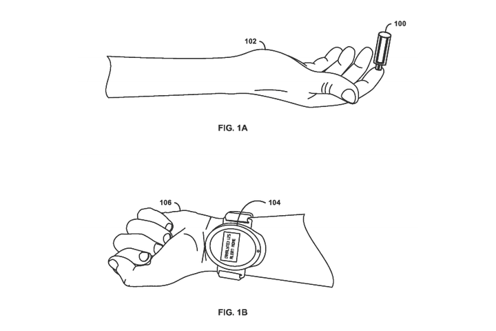 google patents device can draw blood without needle worn wrist free patent