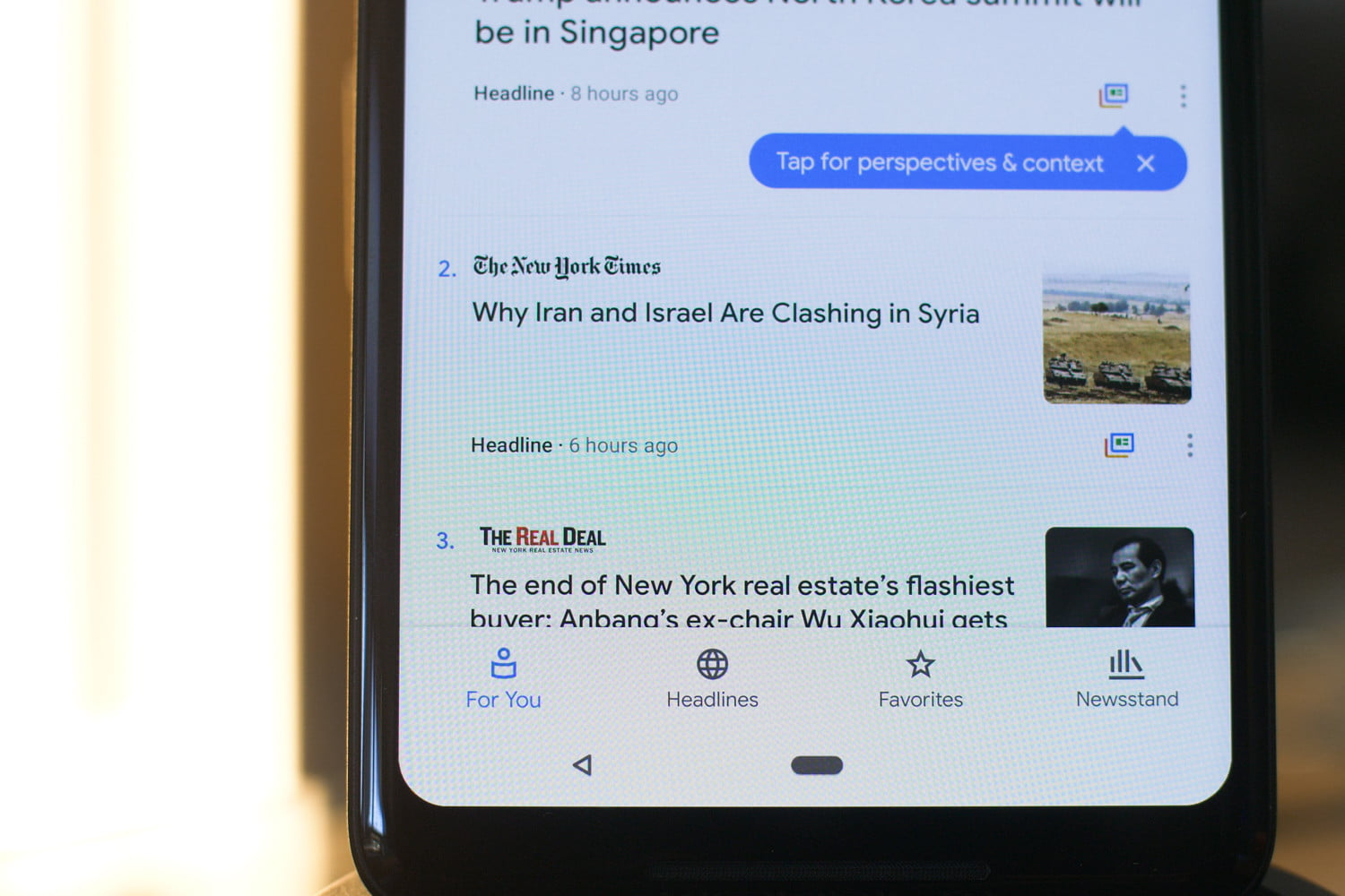 app attack google news for you 1