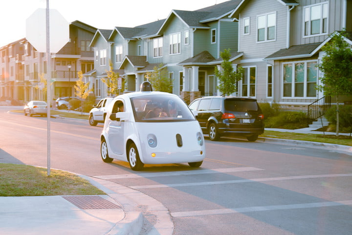 google self driving car project independent company