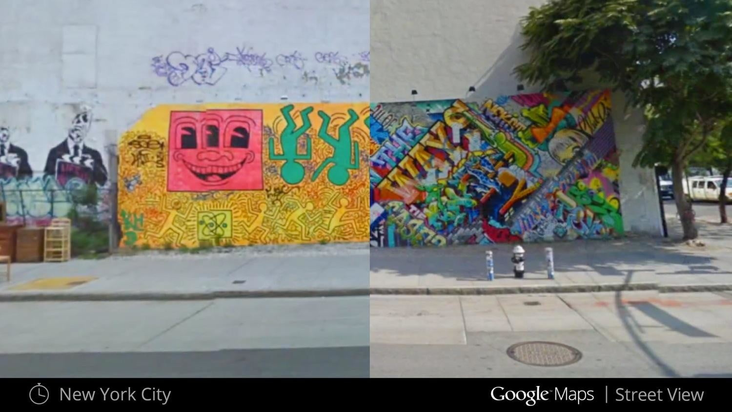 you can time travel using google street view nycbowery