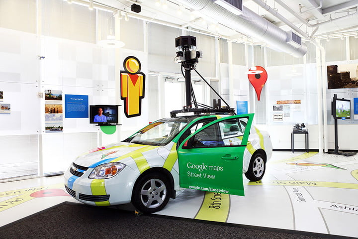 google street view certification program maps with exhibit at the computer history museum