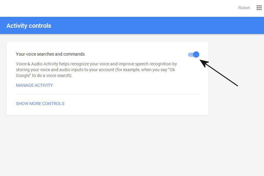 opt out delete google voice search history now 07a