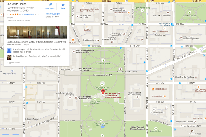 google deeply upset by racist map searches results and labels googlemaps whitehouse
