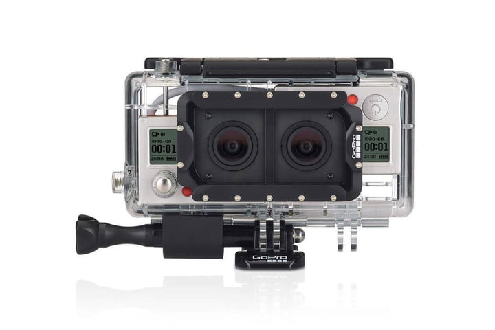 gopros new dual hero casing takes two cameras lets record 3d video gopro case