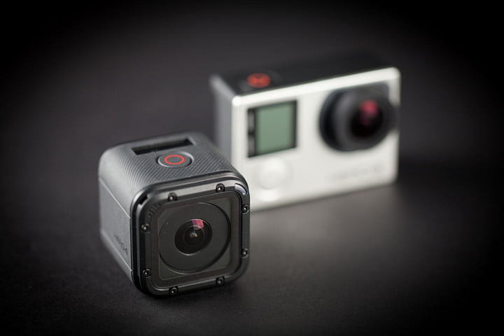 GoPro Hero 4 session side by side 2
