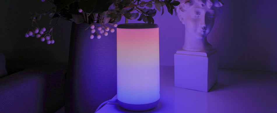 The Govee Lamp has RGB lights to light up the night.