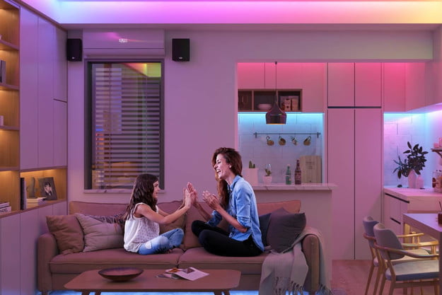 Govee Strip Lights in a Home
