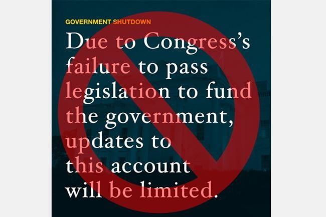 governments triumphant return to the web our 7 favorite apps and accounts that logged back on government shutdown social medi