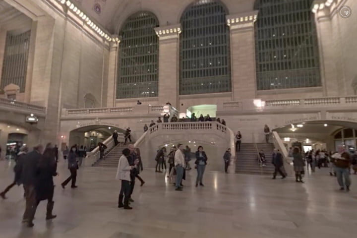 facebook here and now grand central station