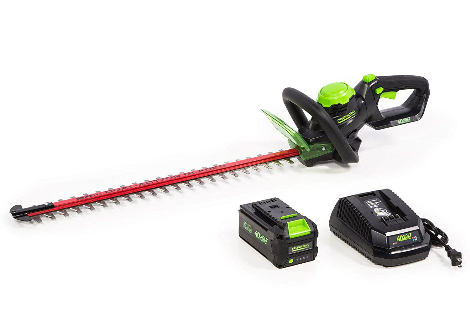 amazon deals on greenworks pressure washers and yard tools 24 inch 40v cordless hedge trimmer 1