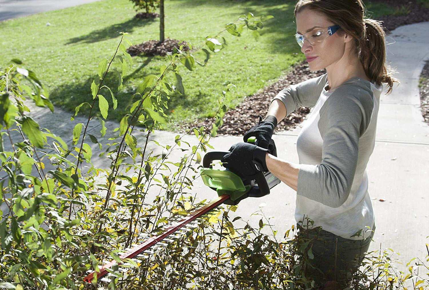 amazon deals on greenworks pressure washers and yard tools 24 inch 40v cordless hedge trimmer 2