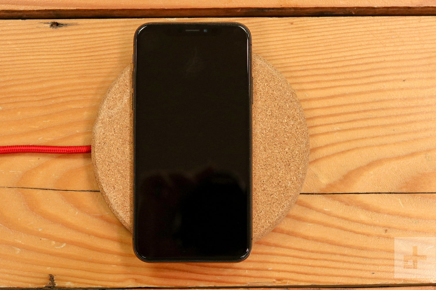 Grovemade Wireless Charging Pad Review phone