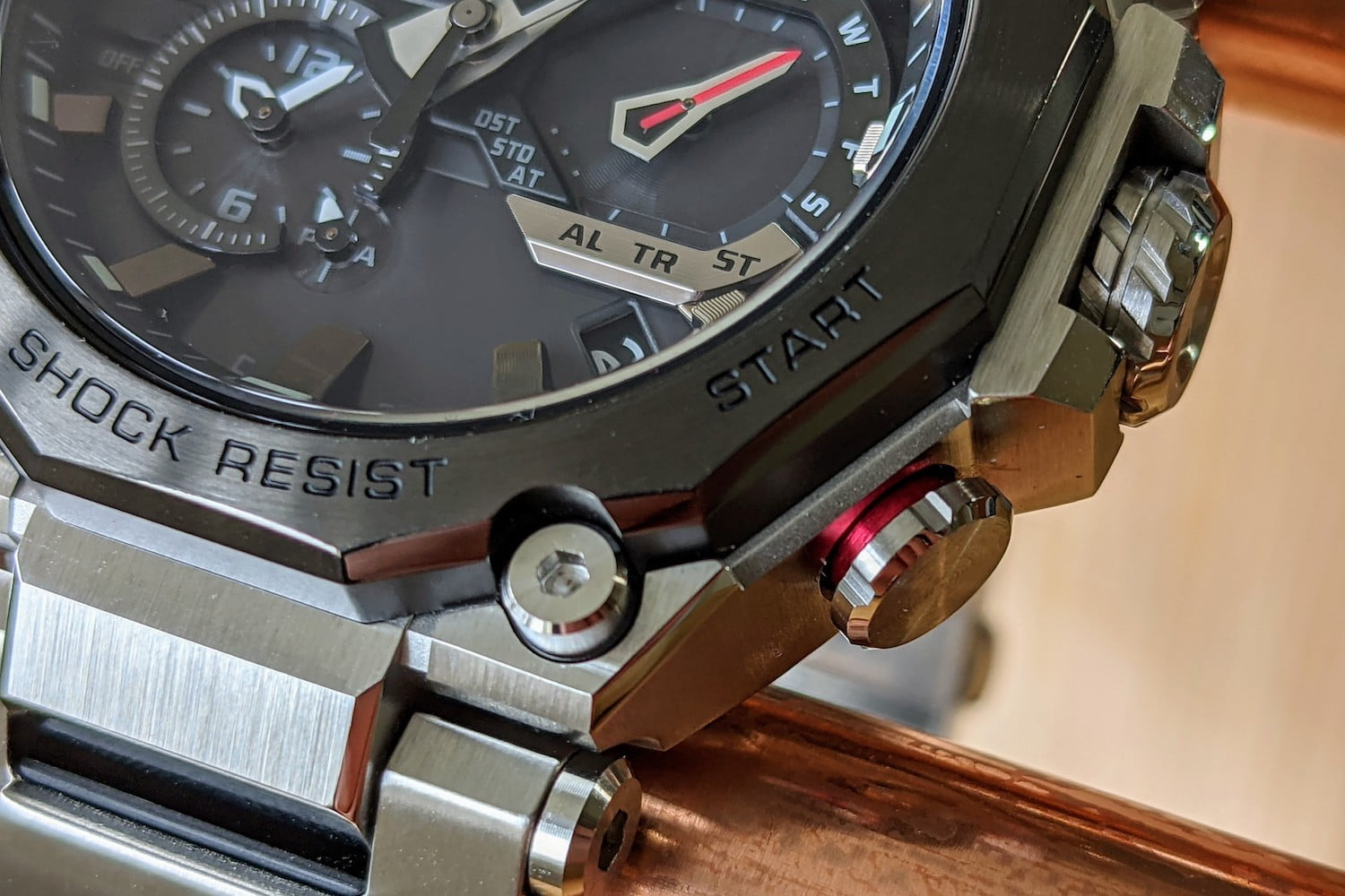 casio g shock mtg b2000 hands on features price photos release date gshock mtgb2000 red button