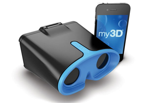 Hasbro My3D viewer front angle iphone
