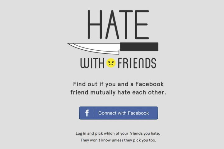 think facebook friends hate app may reveal truth with