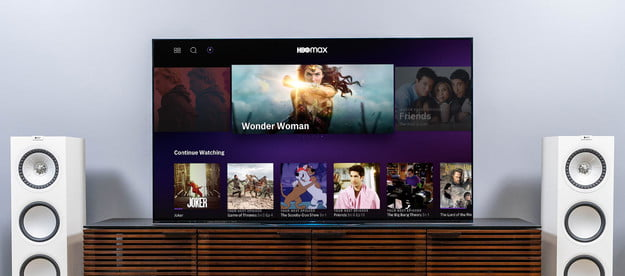 HBO Max Home Theater TV