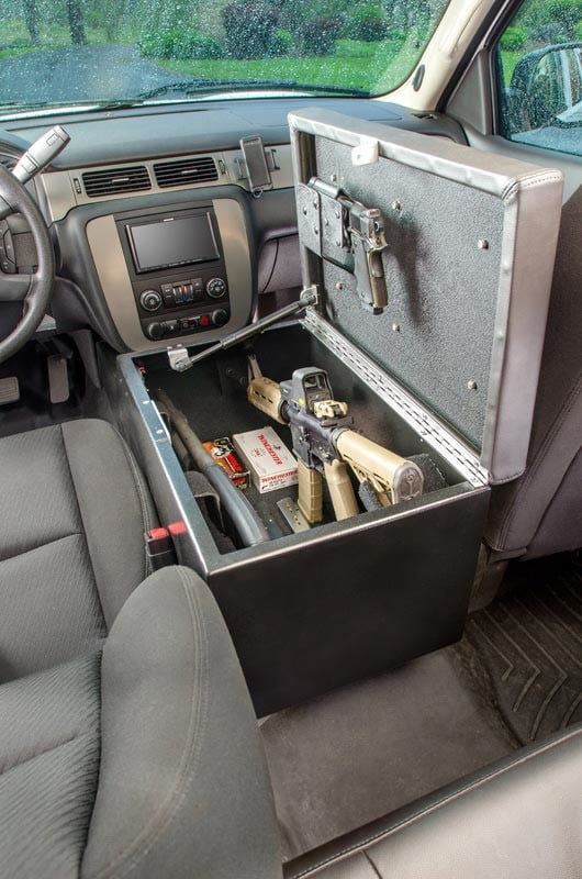 couchbunker bullet resistant sofa gun safe heracles research corporation consolebunker 003