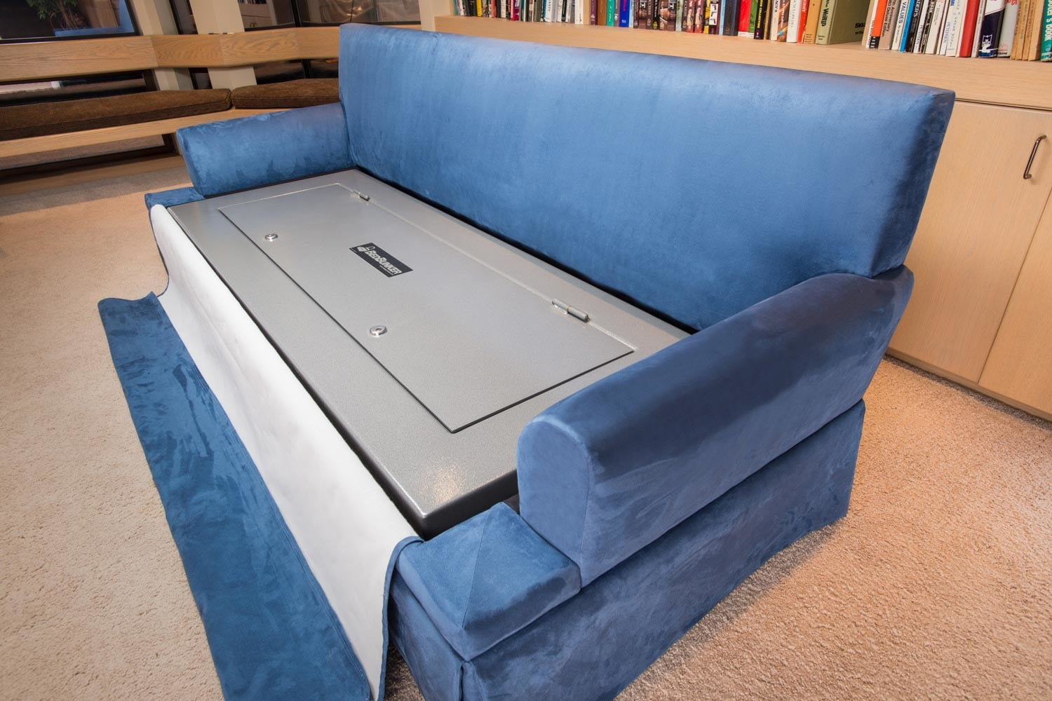 couchbunker bullet resistant sofa gun safe heracles research corporation 006