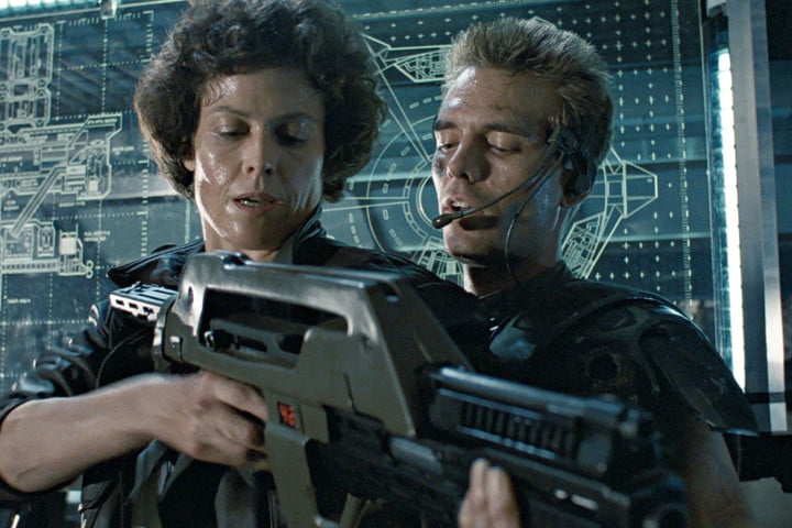 aliens 30th anniversary blu ray edition hicks and ripley in