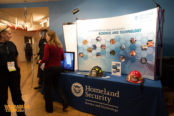 Homeland Security booth