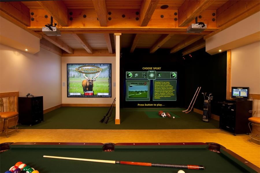 awesome custom home theater installations 2014 hometronics hunting golf