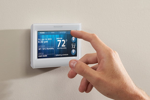 honeywell rth9585wf1004 smart color thermostat review press