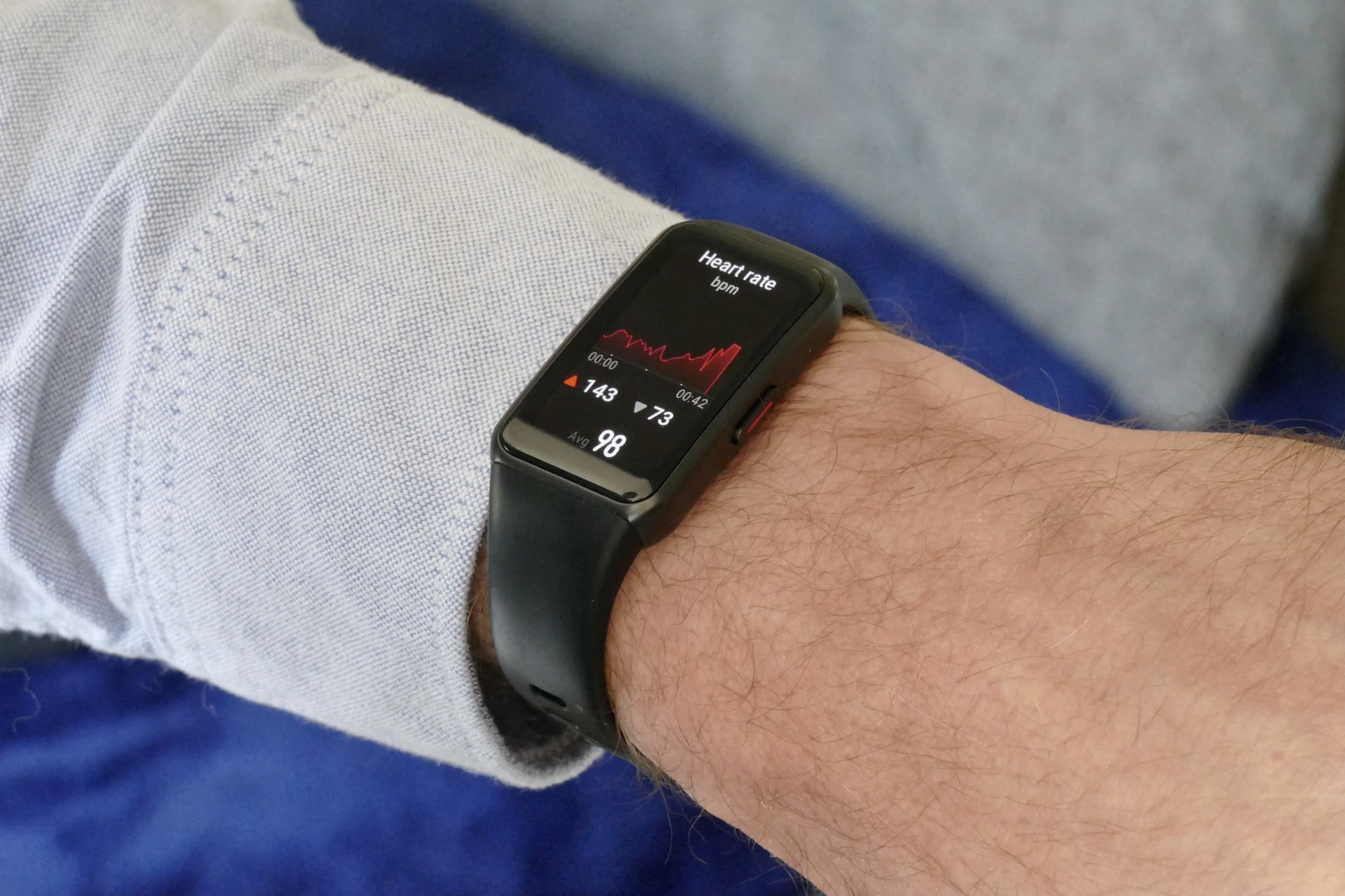 honor band 6 review heart rate