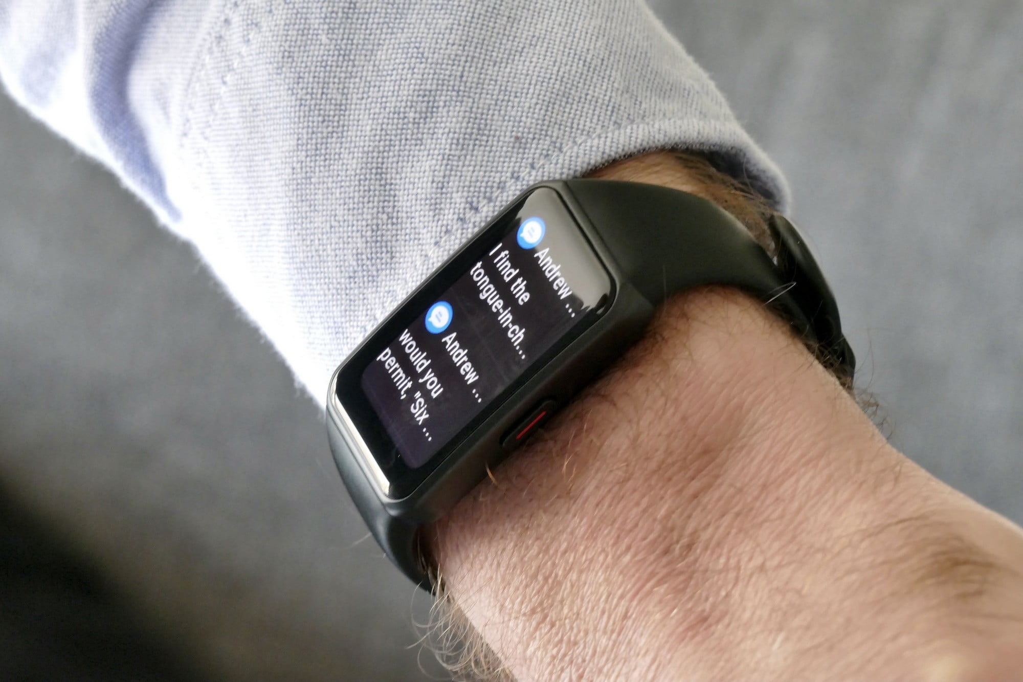 honor band 6 review notifications