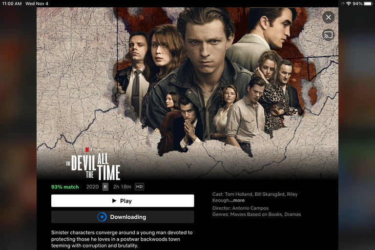 How to download from Netflix: Start Downloading