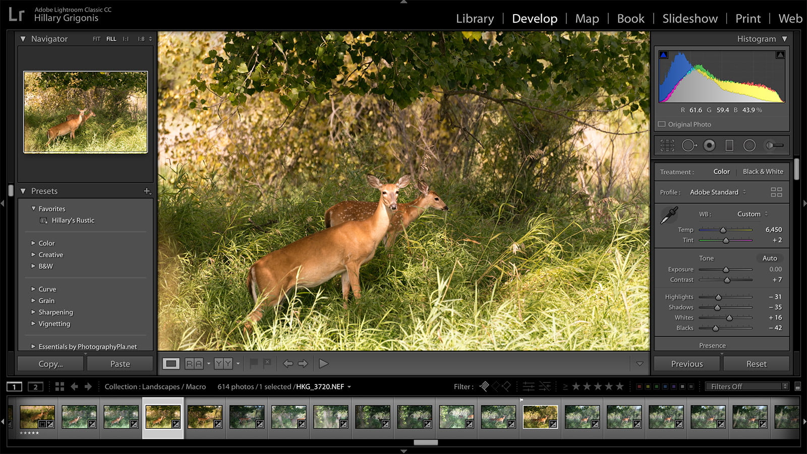 how to make lightroom presets classic 2