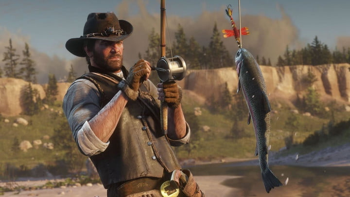 how to start fishing red dead redemption 2 feature
