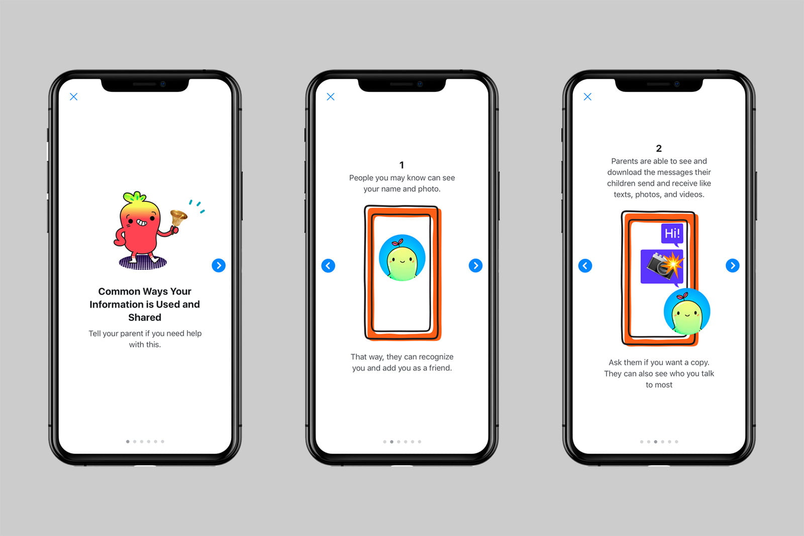 facebook messenger kids privacy education how your info is used 1