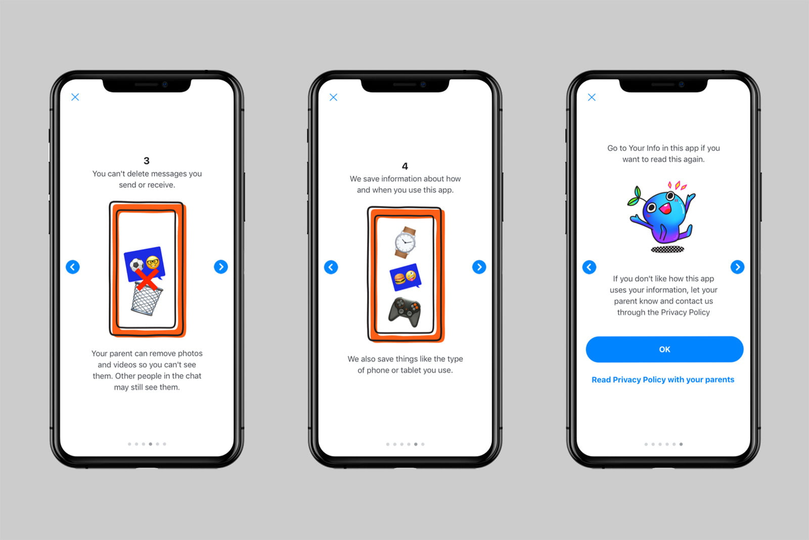 facebook messenger kids privacy education how your info is used 2