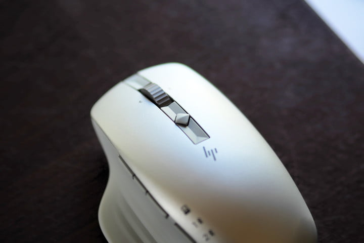 Top view of the HP 930 Creator Wireless Mouse.