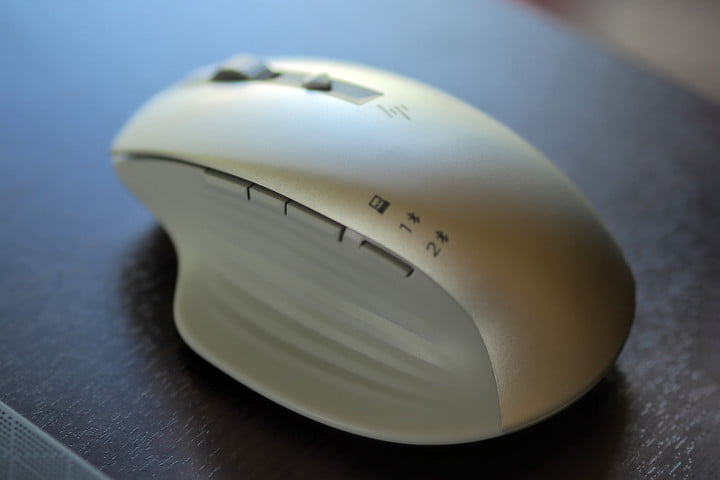 Side view of the HP Creator Wireless Mouse.
