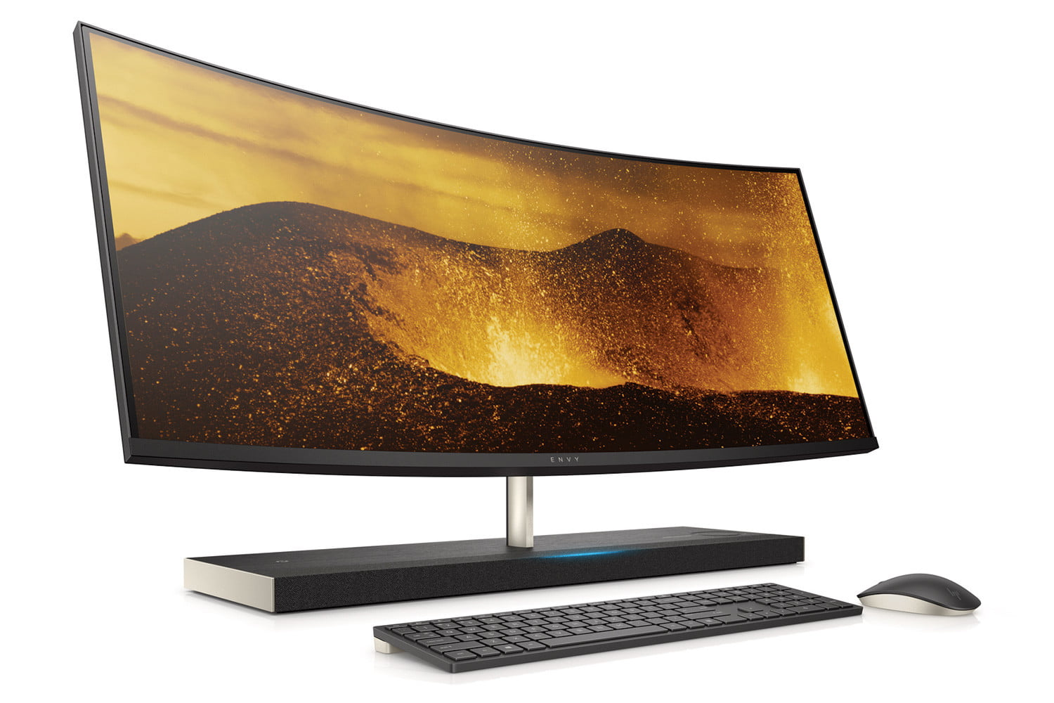 hp envy elitebook and more curved aio cameradown frontright