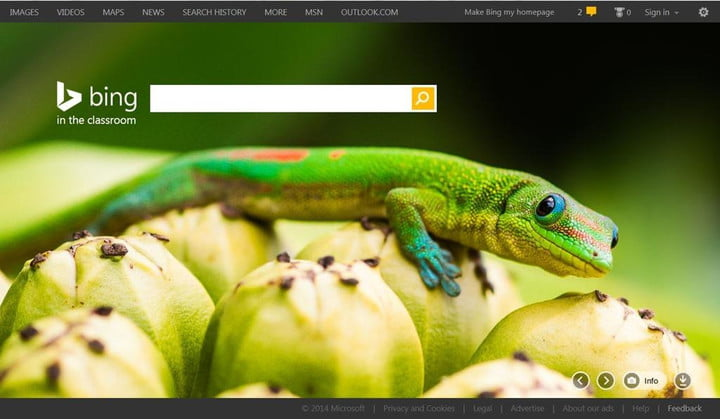 microsofts bing in the classroom launches filters out ads and adult content hp lizard 202f8afc