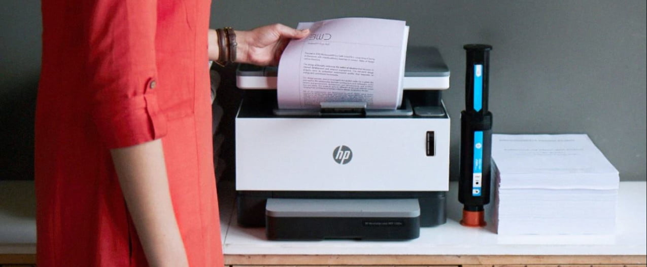 hp neverstop never worry about ink printer