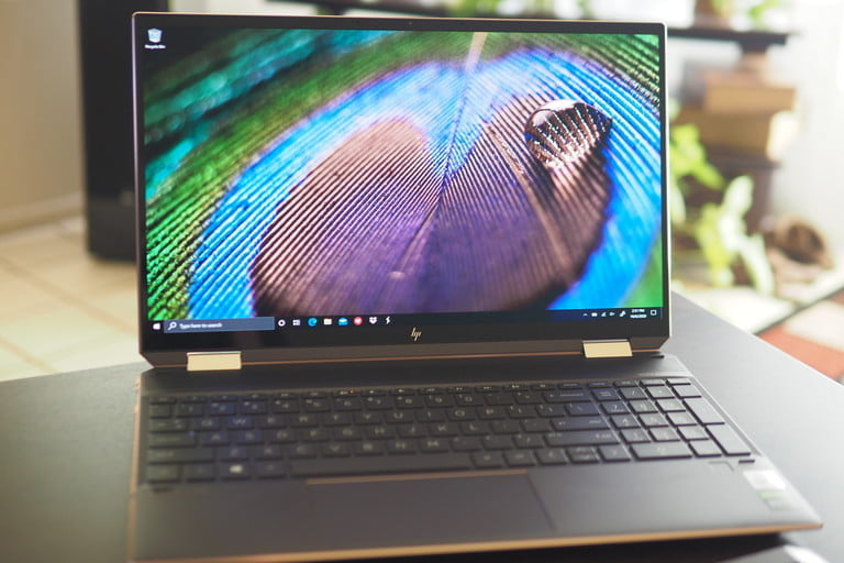 HP Spectre x360 15 front view.