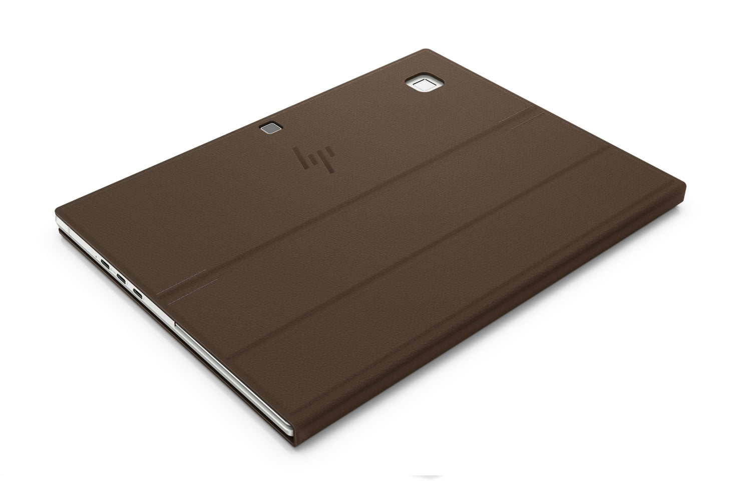 HP Elite x2 G4 with leather finish.