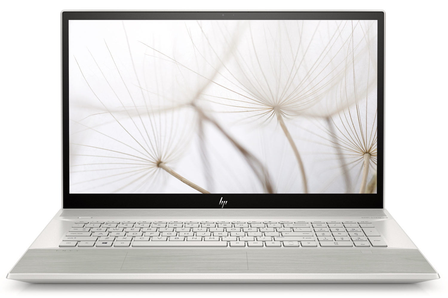 HP Envy 17 with a White Birch finish.