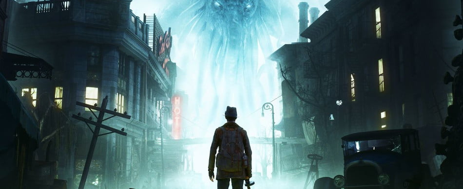 Title art of The Sinking City.